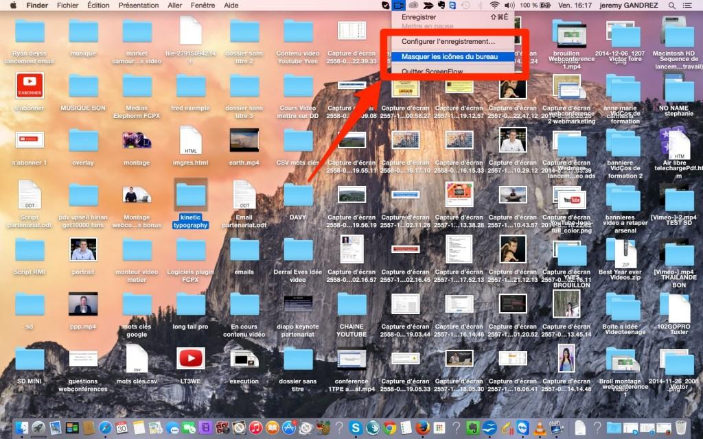 Conseil filmer son écran sur Mac